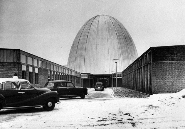 Garchinger Forschungsreaktor - das Atomei