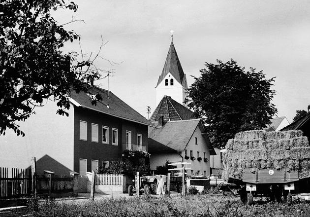Garching um 1957