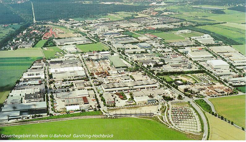 Luftbild Hochbrück heute