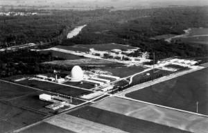 Luftbild Hochschul- und Forschungszentrum früher