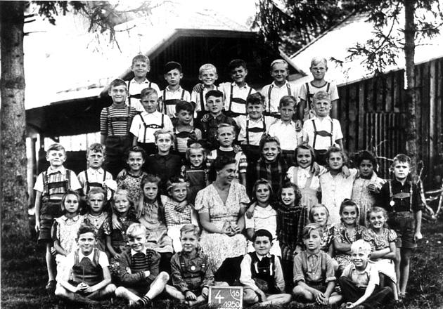 Schulklasse 1950