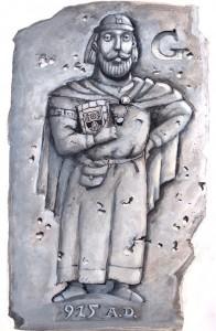 Gowirich in Stein gemeißelt