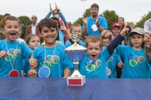Kindersportolympiade 2014 Foto: Becke