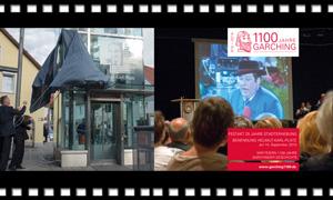 25 Jahre Stadterhebung und Helmut Karl Platz